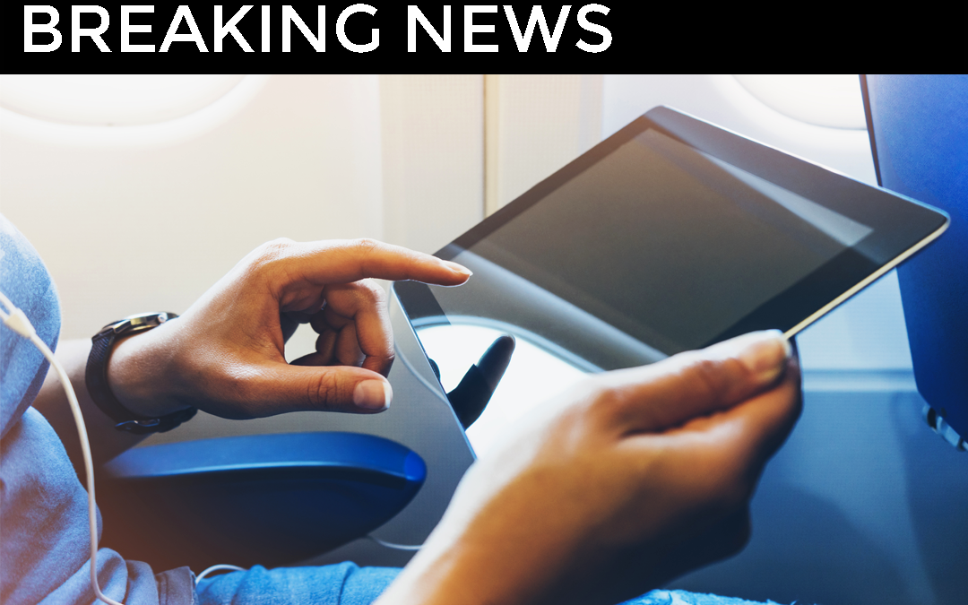 Electronic Devices Banned in Airline Cabins on Selected Routes