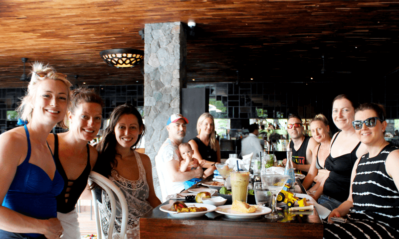 The Sunday family BBQ at Peppers Seminyak was a relaxing and enjoyable close to the conference