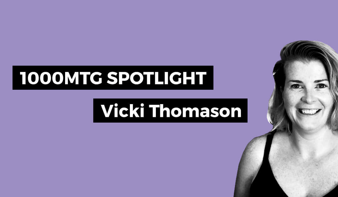 1000 Mile Spotlight – Vicki Thomason