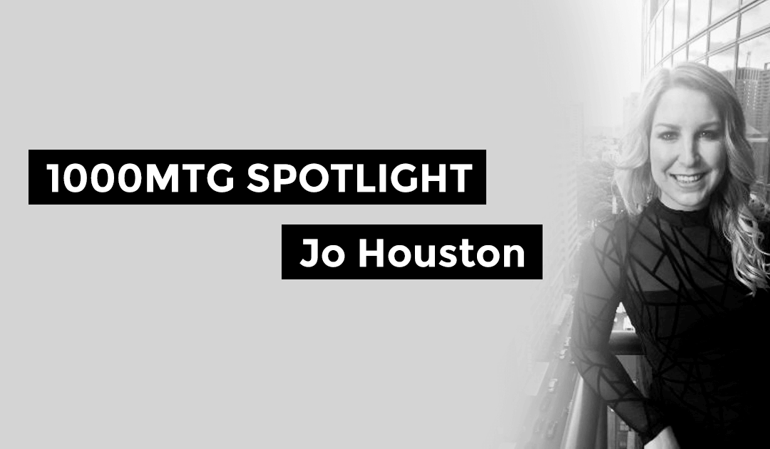 1000 Mile Spotlight – Jo Houston